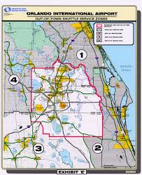 Lake Mary Florida Map by Parking U0026 Transportation Orlando International Aiport Mco