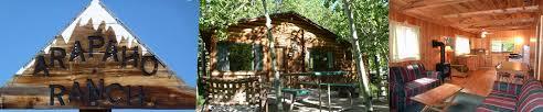 arapaho ranch cabins colorado cabin rental nederland colorado