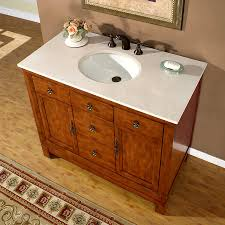 42 Bathroom Vanity With Top by Shop Silkroad Exclusive Frances Cherry Undermount Single Sink