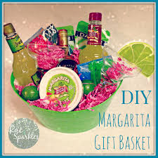 Gift Baskets Food Diy Margarita Gift Basket Perfect Gift For A Friend Who Has