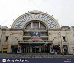 blackpool empress ballroom and winter gardens lancashire uk stock
