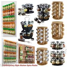 Contemporary Spice Racks Kitchen Drawer Spice Rack Over The Door Spice Rack Spice Rack