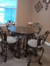 garage table and chairs dining table set in urgent moving s garage sale in columbus oh
