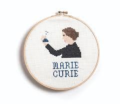 feminist icon cross stitch hachette book