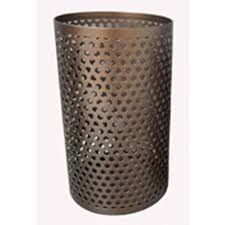 shop allen roth 1 candle bronze metal hurricane candle holder at