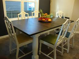 Painted Dining Table Ideas Ideas For Refinishing Kitchen Table Best 25 Painted Kitchen Tables