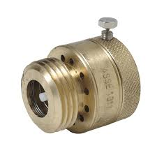 Kitchen Faucet Adapter For Garden Hose Brasscraft 1 In 20 Fine Thread X 3 4 In Hose Thread Brass Garden