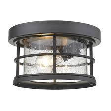 matching outdoor wall and post lights z lite exterior additions black 10 inch one light outdoor ceiling