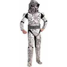 star wars clone wars deluxe arf trooper child halloween costume