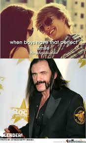 Lemmy Meme - smiling lemmy by drunkconker meme center