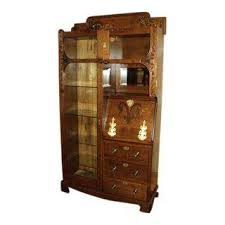 Used Display Cabinets Vintage U0026 Used Country China And Display Cabinets Chairish