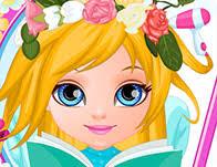baby barbie flower braids games