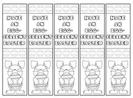 printable easter bookmarks to colour printable easter bookmarks to colour printable pages
