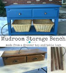 Mudroom Storage Bench Mudroom Storage Bench My 2 Create