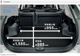 toyota prius luggage capacity interior trust reliable car exporter