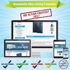 Listing Templates Mobile Responsive Ebay Listing Auction Template Html Css No Active