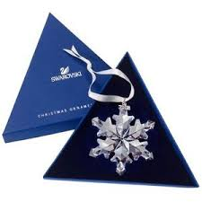 swarovski 2012 annual snowflake ornament brand new in box with