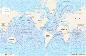 Ocean Currents Map Oceanography Students Britannica Kids Homework Help