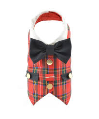 red tartan plaid dog vest harness u2013 spoileddogdesigns com palm