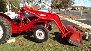 ford 800 tractor with loader walk around for sale youtube