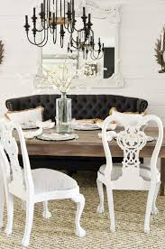 Beach Dining Room Sets by Dining Room Reveal One Room Challenge Week 6 Slightly Coastal