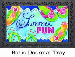 Fun Doormat U0026 Outdoor Summer Fun Insert Doormat 18 X 30