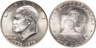 1776 to 1976 quarter 1776 1976 d type i eisenhower dollar values facts
