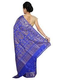 Buy Royal Blue Pure Silk Baluchari Silk Sarees Online Indian Silk House Agencies