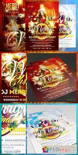merry christmas flyer template 1101673 free download photoshop