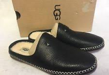 ugg womens amely shoes black ugg australia flat 0 to 1 2 in leather shoes for ebay