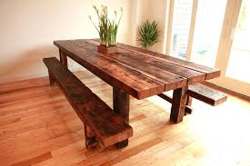 Reclaimed Round Dining Table by Handmade Round Dining Tables Washington Round Dining Table