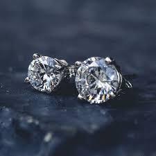 cheap diamond earrings cut diamond earrings pair the gld shop
