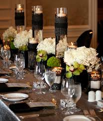 black and gold centerpieces for tables cheap wedding decoration ideas for tables 34 best black white event