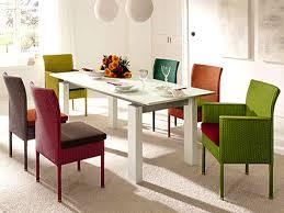 furniture pleasant coastal dining room concept colorful