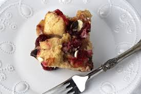 leftover cranberry sauce d bread pudding with chocolate and