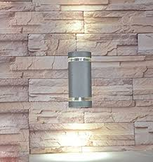 Waterproof Outdoor Lighting Fixtures Luminturs 8w Semi Cylinder Led Bulb Wall Sconce Up External