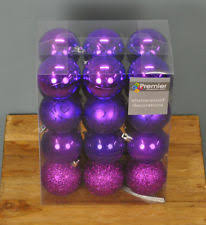 purple tree ornaments ebay