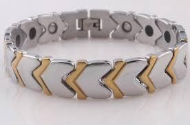 germanium energy bracelet images 2018 health germanium power gold men 39 s h bracelet stainless steel jpg
