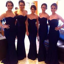 navy blue bridesmaids dresses navy blue bridesmaid dresses mermaid bridesmaids dress