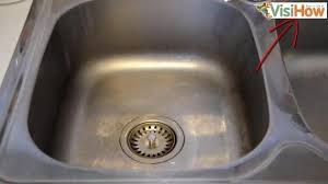 How To Clean The Kitchen Sink Easily Clean Dirt And Bacteria Out Of Your Kitchen Sink Visihow