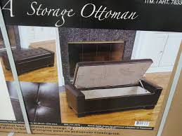 Damask Storage Ottoman by Home Tips Costco Ottoman For Complete Your Living Space In Style