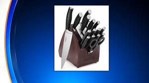 2 million calphalon knives recalled cbs new york