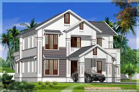 house design at kerala sloping roof kerala home design at 2400 sq ft