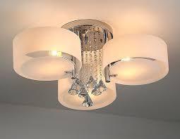 ladari moderni da soffitto ladario da soffitto con 3 punti luce circolari elegante