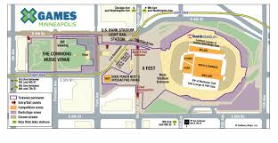 Arizona Mills Mall Map by Summer X Games 2017 Mega Showcase Makes Minneapolis Debut