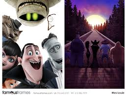 hotel transylvania 2 wes louie u0027s storyboard art famous