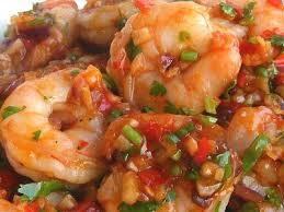 cuisiner des crevettes crevettes à la façon sichuan food crevettes