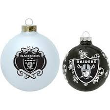 oakland raiders ornaments tree topper