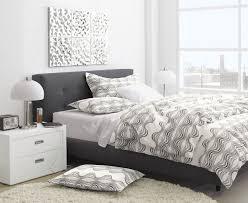 bed frame grey upholstered bed frame mvkev grey upholstered bed