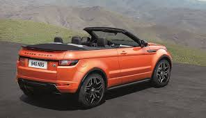 land rover india land rover range rover evoque convertible officially unveiled
